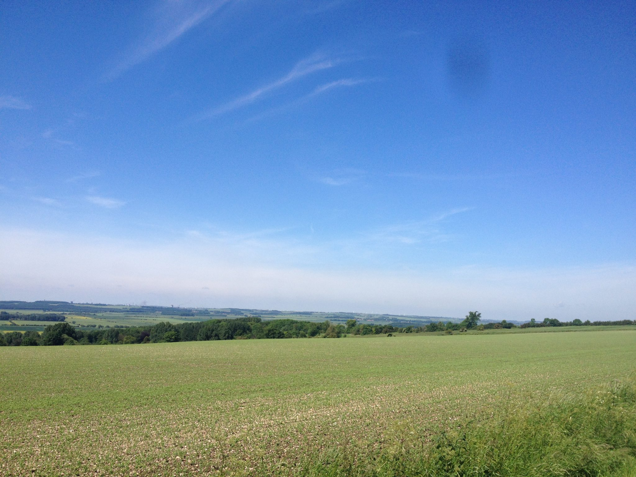 The Highest Point of my 50.4 Mile Ride on Friday 6th June