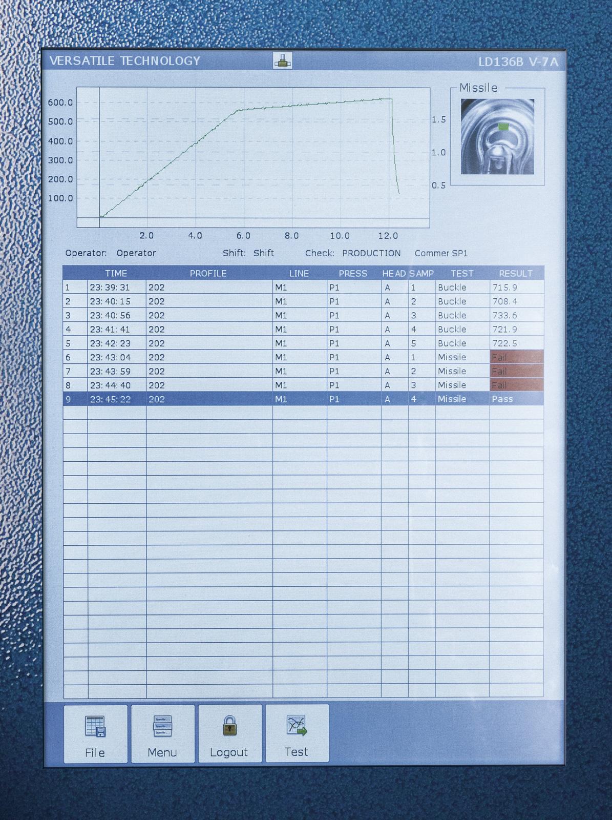 LD136B Automatic Buckle Gauge